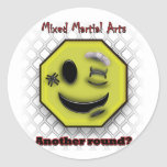 MMA Smile, Another round? Classic Round Sticker