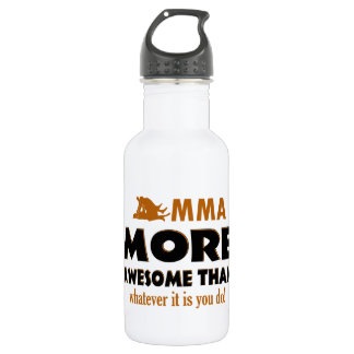 Mma sports designs stainless steel water bottle