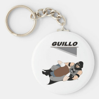 "MMA Superhero ""Guillo"" Keychain"