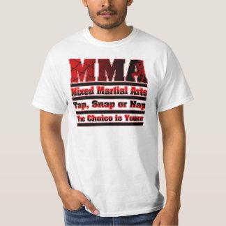 MMA Tap, Snap or Nap T-Shirt