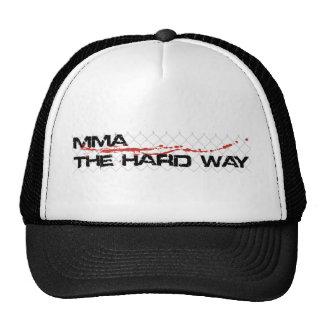 MMA The Hard Way - Cage Logo Trucker Hat