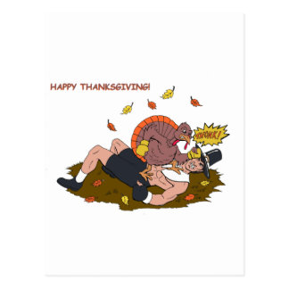 MMA Turkey vs Pilgrim Postcard