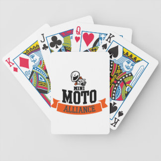 mmalogo bicycle playing cards