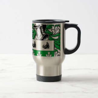 mMcCutcheon Coat of Arms 15 Oz Stainless Steel Travel Mug