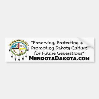 MMDC Logo: statement, website Bumpersticker Bumper Sticker