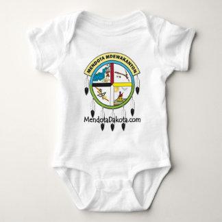 MMDC logo with website Baby Bodysuit