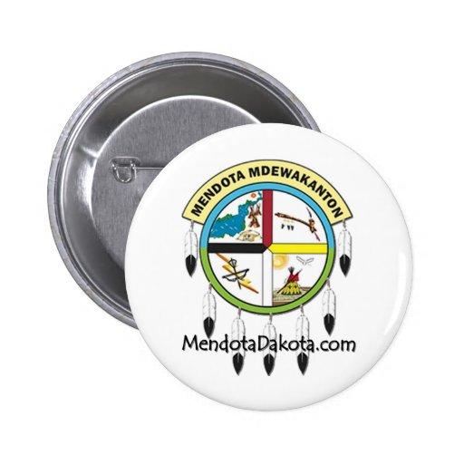 MMDC Mendota Dakota Logo and Webs 2 Inch Round Button