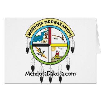 MMDC Mendota Dakota Logo and Webs Card