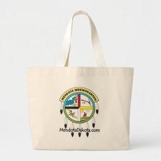 MMDC Mendota Dakota Logo and Webs Jumbo Tote Bag