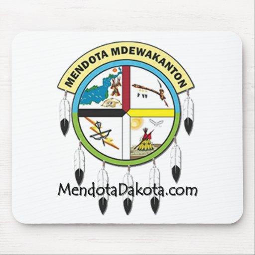MMDC Mendota Dakota Logo and Webs Mousepad