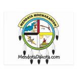 MMDC Mendota Dakota Logo and Webs Post Cards
