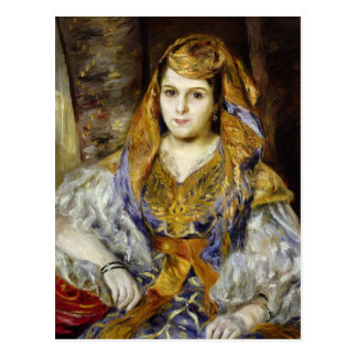 Mme. Clementine Stora en vestido argelino Postales