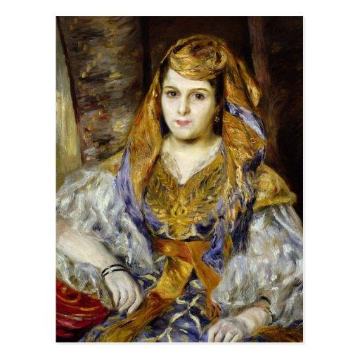 Mme. Clementine Stora en vestido argelino Tarjetas Postales
