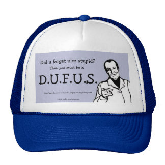 MME humor - gorra de D.U.F.U.S.