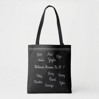 "MMetropolim ""Custom All Over Print Cross Body Bag"" Tote Bag"