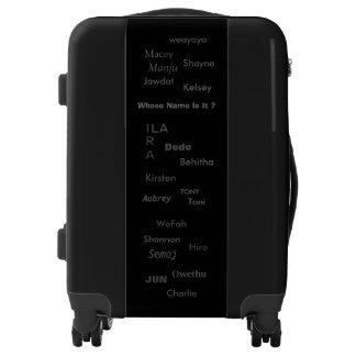 "MMetropoLim ""Whose Name Is It ? Black Luggage"