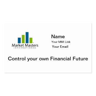 MMI Market Masters Int Business Cards