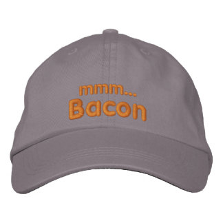 MMM ... Bacon Love Embroidered Baseball Hat
