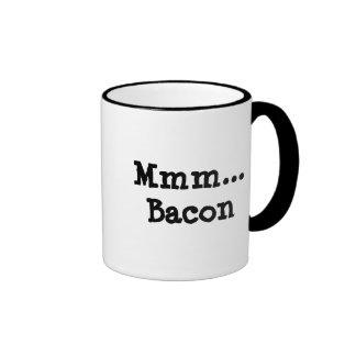 Mmm...Bacon Ringer Coffee Mug