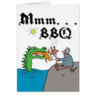 Mmm. . . BBQ Card