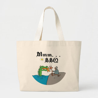 Mmm. . . BBQ Large Tote Bag