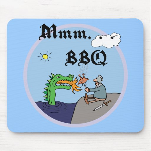 Mmm. Bbq Mouse Pads