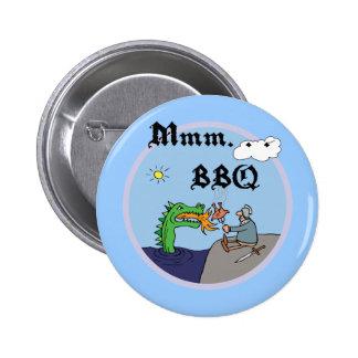 Mmm. Bbq Pin Redondo 5 Cm
