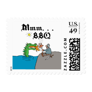 Mmm. . . BBQ Stamps