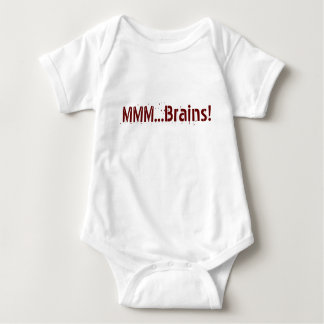 MMM...Brains! Jumper Baby Bodysuit