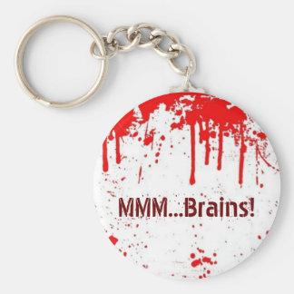 MMM...Brains Keychain