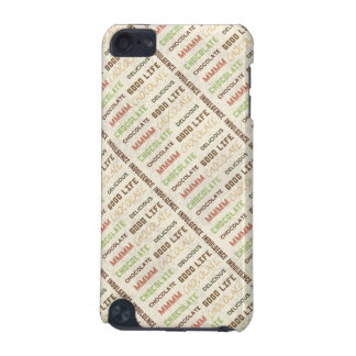 Mmm Chocolate Indulgence Good Life Chocolate Lover iPod Touch (5th Generation) Covers