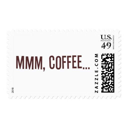 Mmm Coffee... Postage Stamps