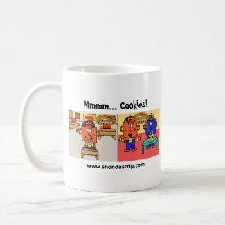 Mmm Cookies Mug mug