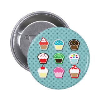 Mmm, Cupcakes! Pinback Button