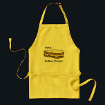 "Mmm...Grilled Cheese Adult Apron<br><div class=""desc"">Grilles cheese apron</div>"