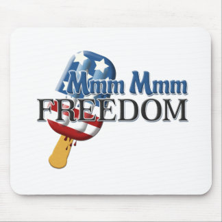 Mmm Mmm Freedom Mouse Pad