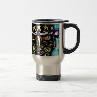 MMm Mumbly Pixels Travel Mug