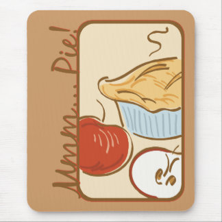 Mmm Pie design Mouse Pad