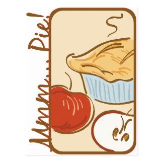 Mmm Pie design Postcard