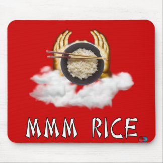 Mmm Rice Mouse Pad