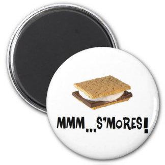 mmm...s'mores! magnet