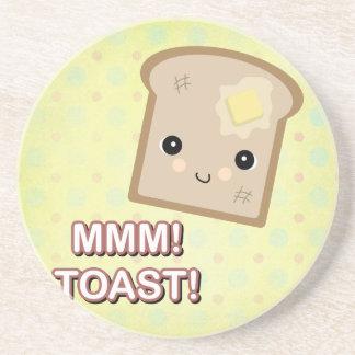 mmm toast coaster