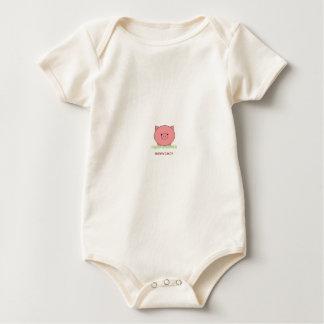 Mmm tocino Piggie Mameluco De Bebé