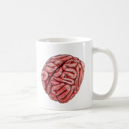 Mmmm .... BRAINS! Classic White Coffee Mug