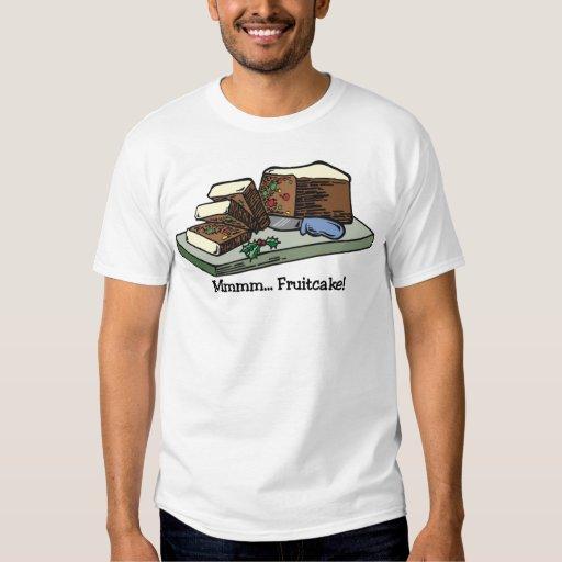 Mmmm camiseta del Fruitcake Playeras