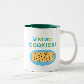 Mmmm Cookies! Two-Tone Coffee Mug