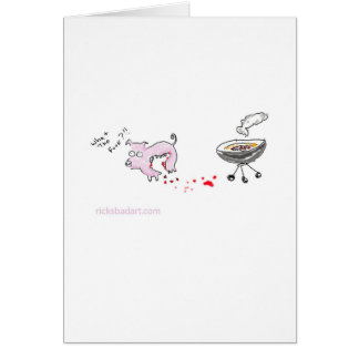 MMMM....delicious..... Greeting Cards
