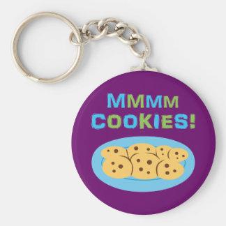 ¡Mmmm galletas Llavero