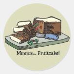 Mmmm pegatinas del Fruitcake