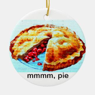 mmmm, pie ornament